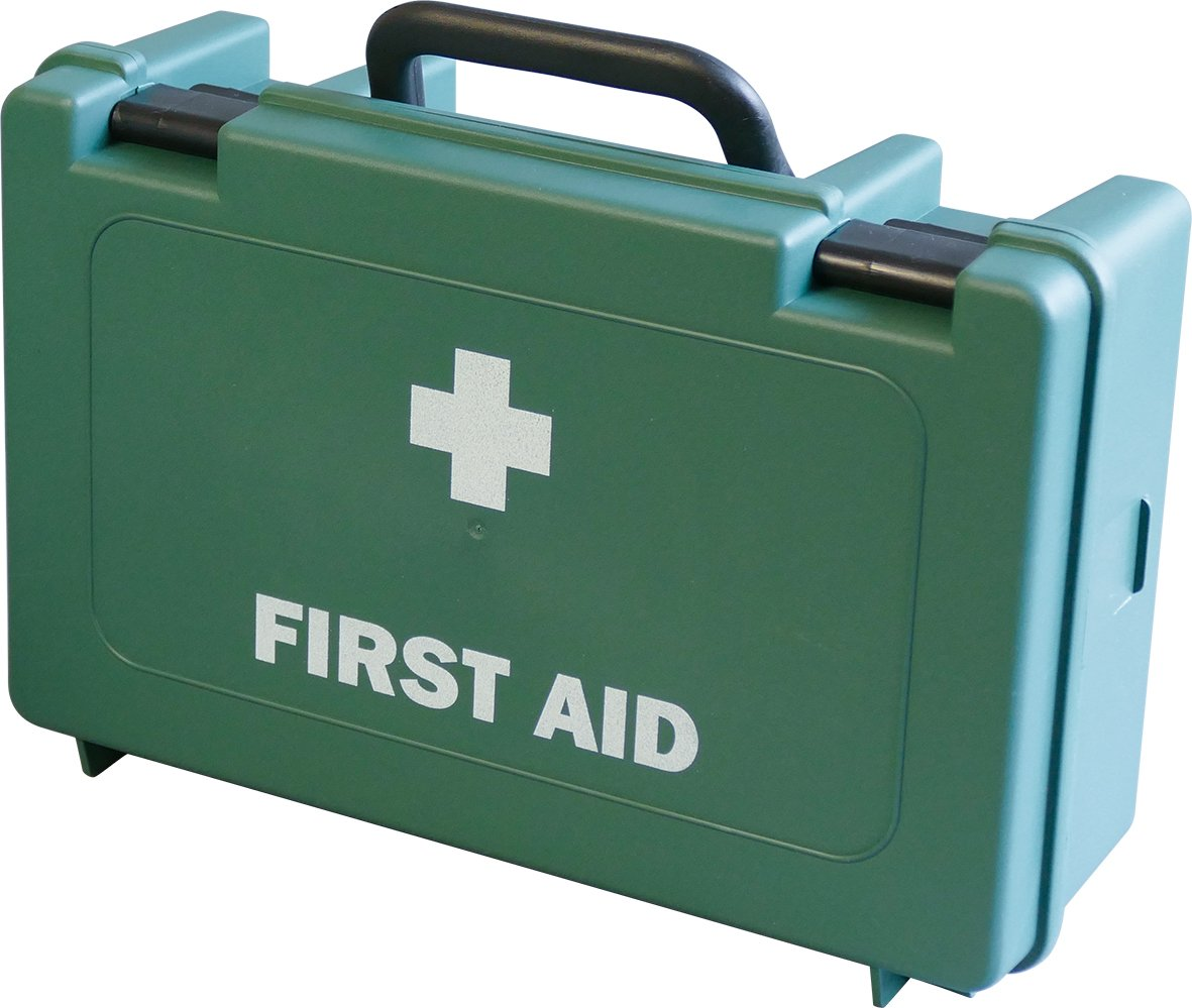 Safety First Aid Group Empty First Aid Case - Box is Hard and Light (Large) NPR3BAZ