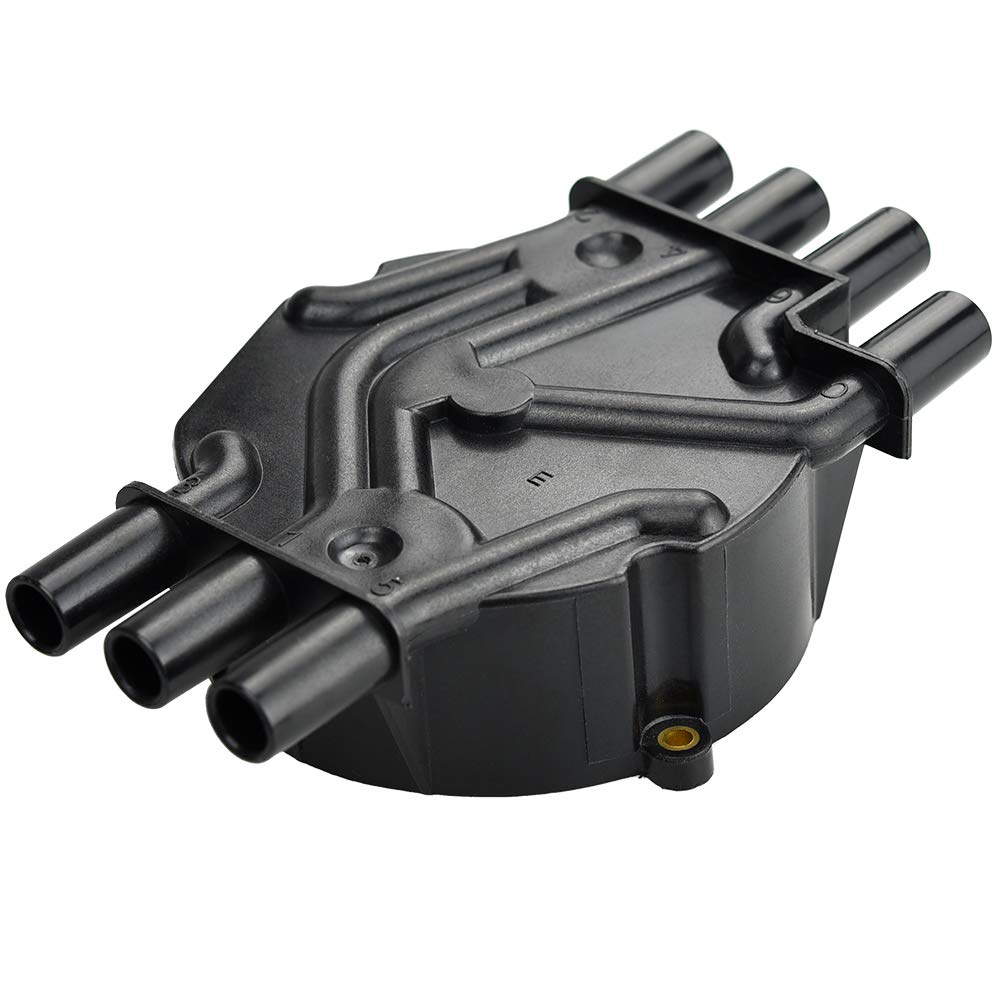 MegaFlint Ignition Distributor Cap fits Chevy EXPRESS 1500 GMC JIMMY Olds 1996-2007 4.3L V6 Rotor D465 10452457 10452458 D328A DR475T MF-DTC002
