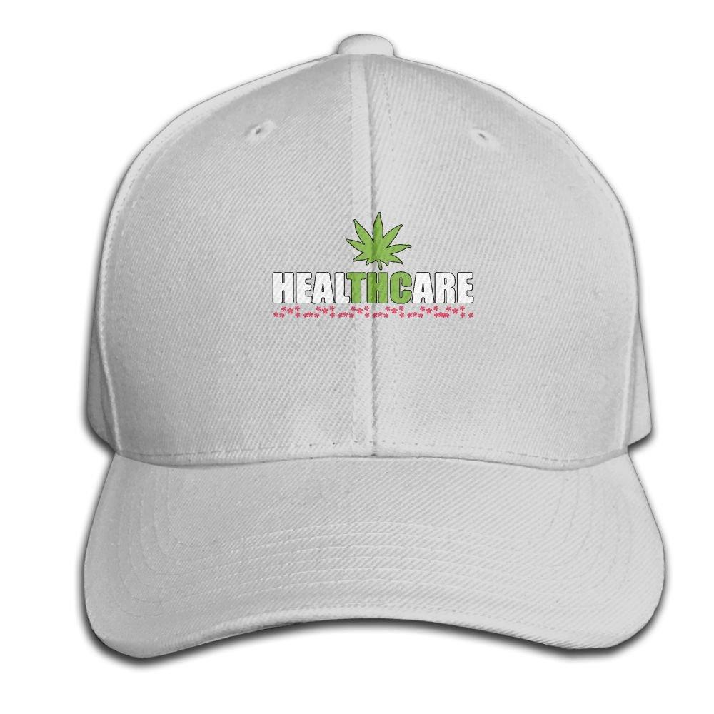 Amazon.com  Wiyeres Healthcare Cannabis Medical Weed Snapback Sandwich Cap  Ash Baseball Cap Hats Adjustable Peaked Trucker Cap  Clothing 6b54beafaf9d