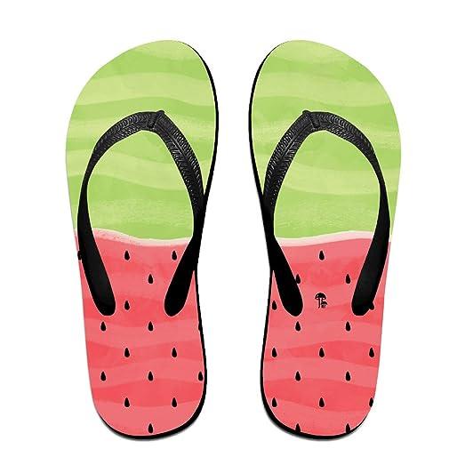 Cool Watermelon Unisex Comfortable Soft Beach Flip Flops Beach Sandals Flip-Flop Beach Flipflop Sandal Slippers For HomeBeach