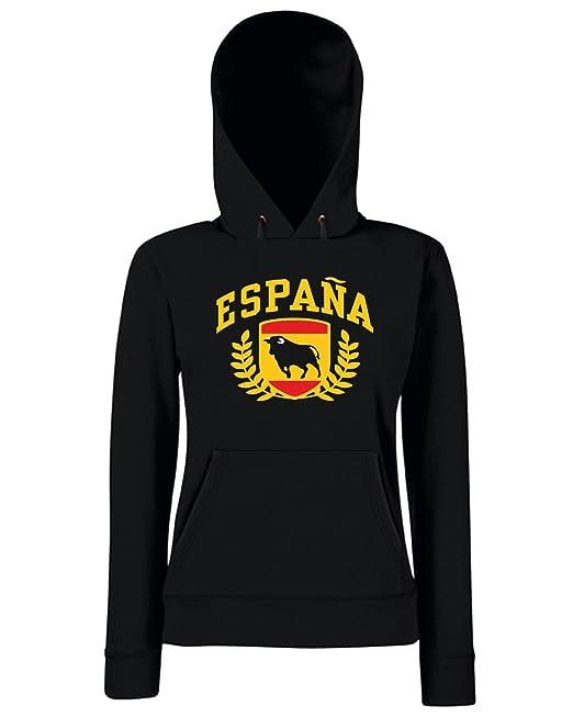 T-Shirtshock - Sudadera hoodie para las mujeras TSTEM0162 espana, Talla L: Amazon.es: Ropa y accesorios