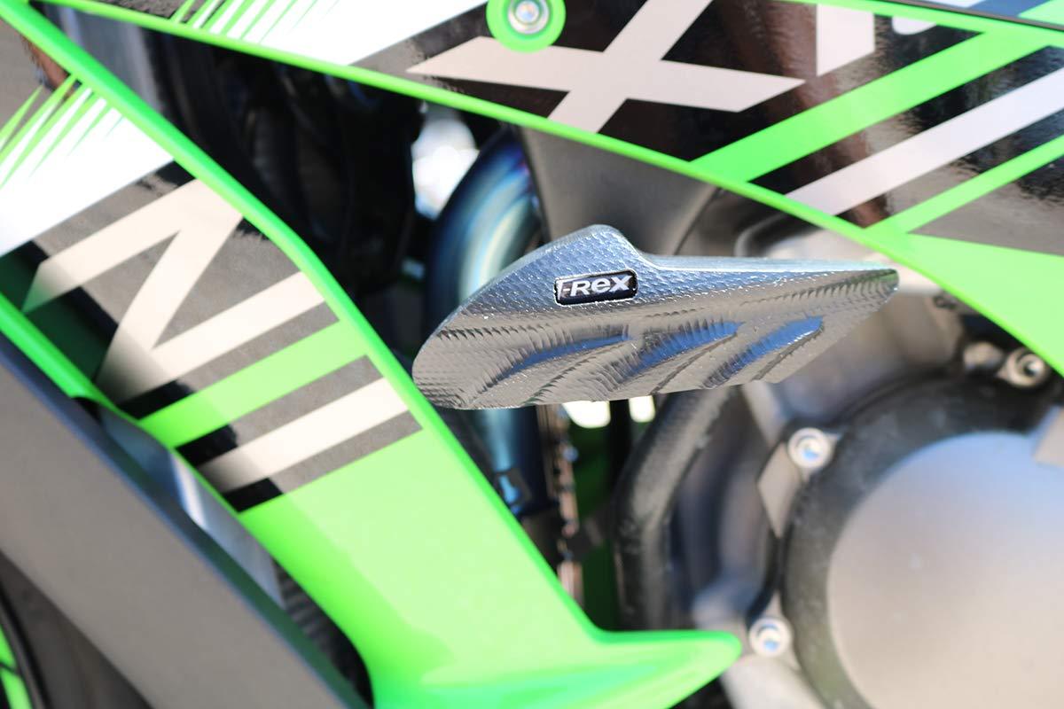 Black T-Rex Racing No Cut Frame Sliders for Kawasaki 2011-2019 ZX-10R