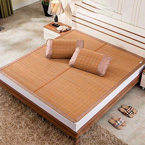 マットレス トップ マット冷却 bamboom,折り畳み式の両面の夏ふとん,パッド マットレスを眠っている滑らかな冷却夏-A 180*198cm
