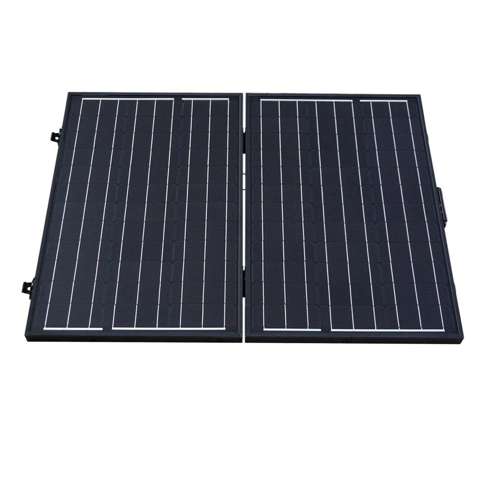 Solarenergie Photovoltaik-hausanlagen Universal 14w Doppelt Usb-anschluss Gefaltet Einkristallin Sonnenkollektor Sonne