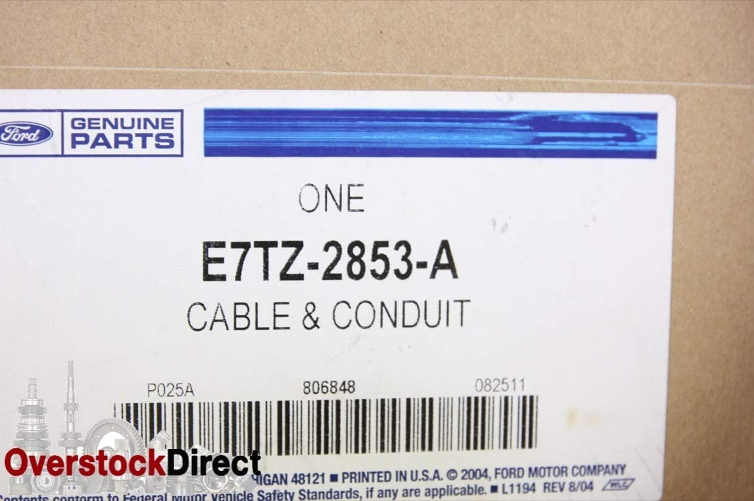 Ford E7TZ-2853-A PARKING CABLE ASY
