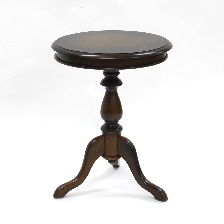 Carolina Chair and Table Gilda Pedestal Table, Chestnut