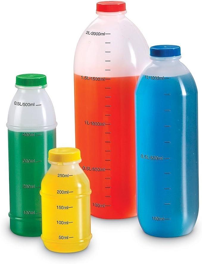 Learning Resources- Set de medición en litros, Color (LER1307): Amazon.es: Juguetes y juegos