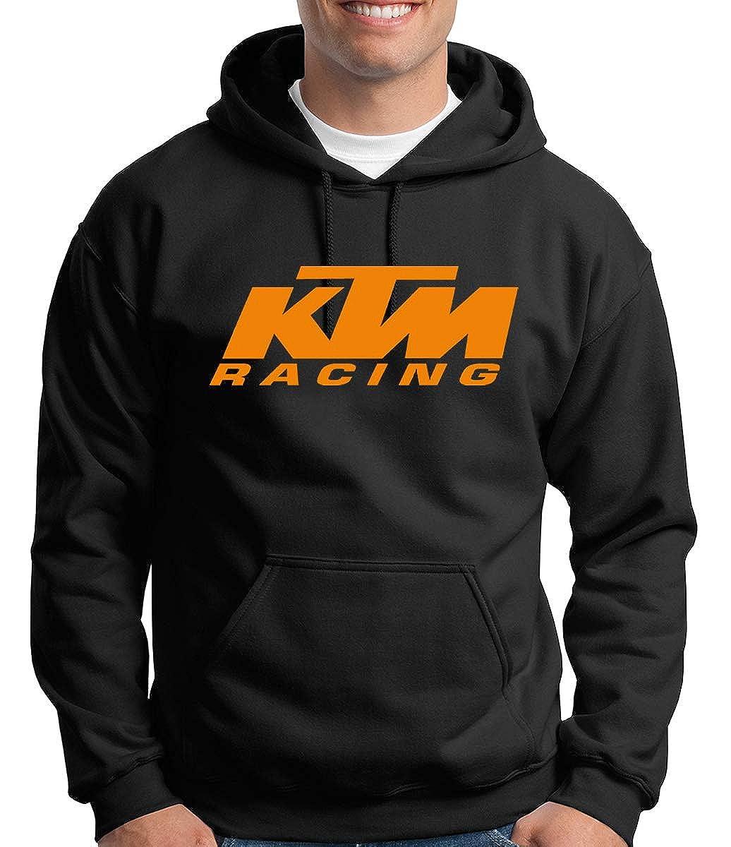 Unisex Hoodie customSwagg KTM Racing Oragne Print Black Hoodie