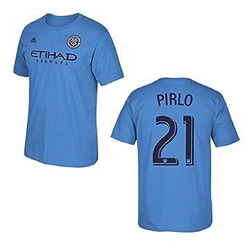 Ciudad York fútbol Club Andrea Pirlo Azul Nombre y número Camiseta, Azul: Amazon.es: Deportes y aire libre