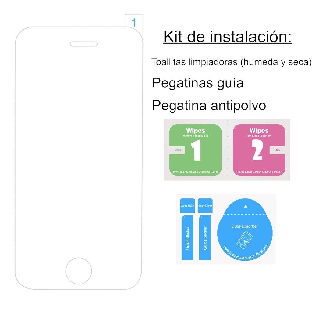 ... templado MATE y ANTIREFLECTANTE para Huawei P9 Lite l Calidad HD, Grosor 0,3mm (Incluye instrucciones y soporte en Español): Amazon.es: Electrónica