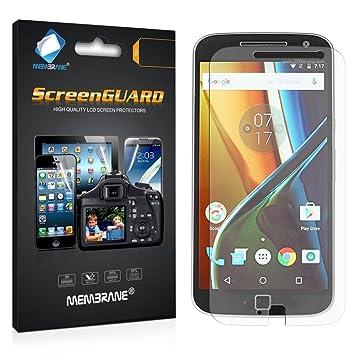 Membrane 3 x Protector de Pantalla compatibles con Motorola Moto ...