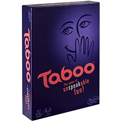 Taboo Board Game: Toys & Games