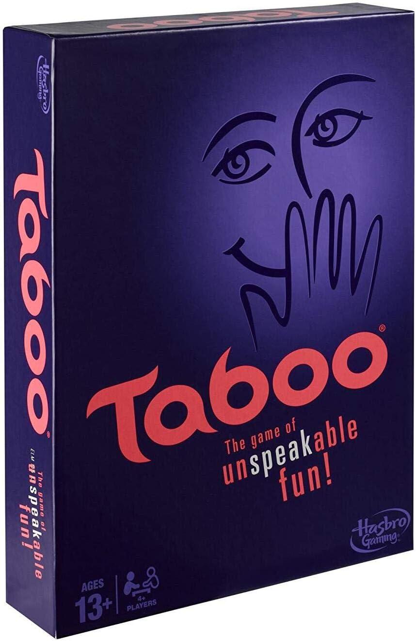 Hasbro Gaming - Juego de Mesa Tabú (285 A4626) (versión en inglés)