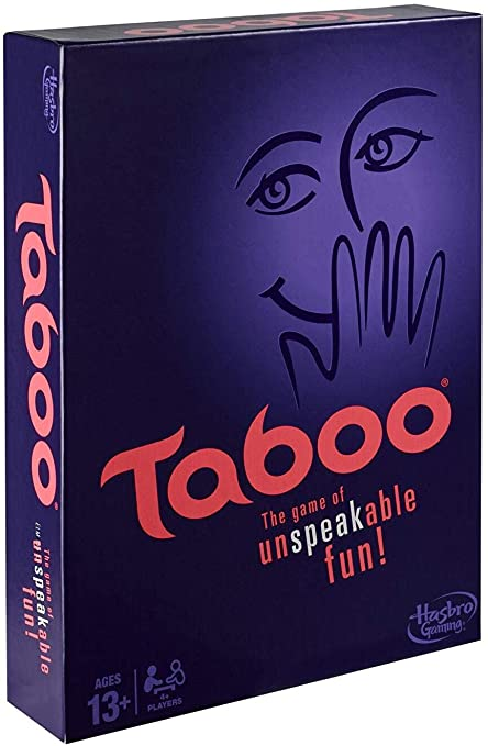 Taboo Board Game Cards Adults Kids Children Fun Party Christmas Gift Family