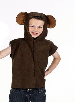 Monkey - Disfraz de mono para niño, talla única (211914): Amazon ...