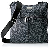Baggallini Horizon Lightweight Crossbody Bag –Multi-Pocketed, Water Resistant Travel Purse with Removable Wristlet