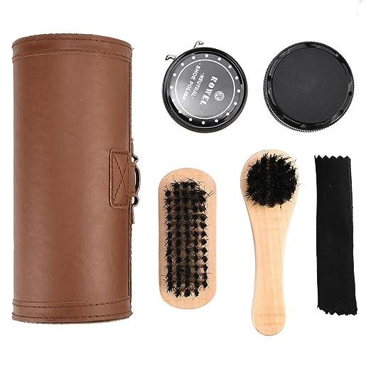 Amazoncom Shoe Care Kitumfun Shoe Shine Care Kit Polish Cleaning