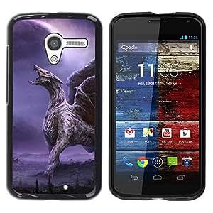 Be Good Phone Accessory // Dura Cáscara cubierta Protectora Caso Carcasa Funda de Protección para Motorola Moto X 1 1st GEN I XT1058 XT1053 XT1052 XT1056 XT1060 XT1055 // Dragon Win