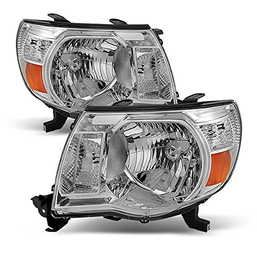 ACANII - For 2005-2011 Toyota Tacoma Headlights Headlamps 05-11 Driver + Passenger Side Lights - Toyota Headlight Tacoma Replacement
