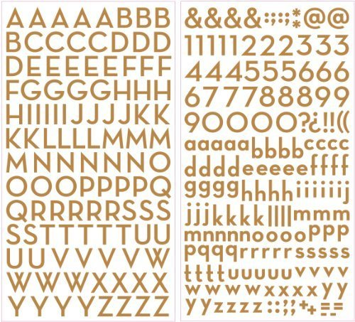 Shimmer Alpha Stickers .437