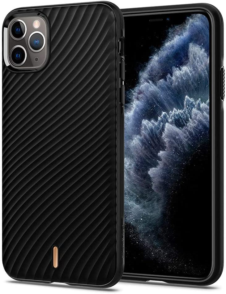 CYRILL Wave Shell Designed for Apple iPhone 11 Pro Case (2019) - Black
