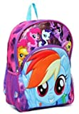 """My Little Pony 3D Molded 16"""" Backpack Large Purple"""