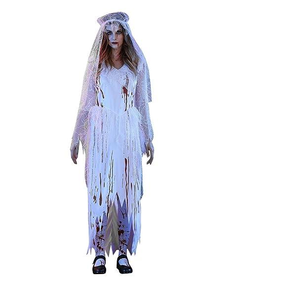 SHOBDW Mujer Víspera de Todos los Santos de Halloween de Moda Sexy ...