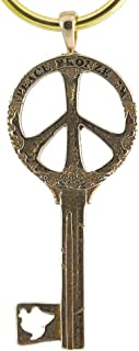 product image for Key to Peace Peace Bronze Key Chain