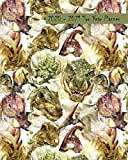 2020-2021 Two Year Planner: Cool Dinosaur Faces Cover on a Weekly Monthly Planner Organizer. Perfect 2 Year Motivational Planner for Teens, Agenda, ... students! (Dinosaur Lovers 2 Year Planner)