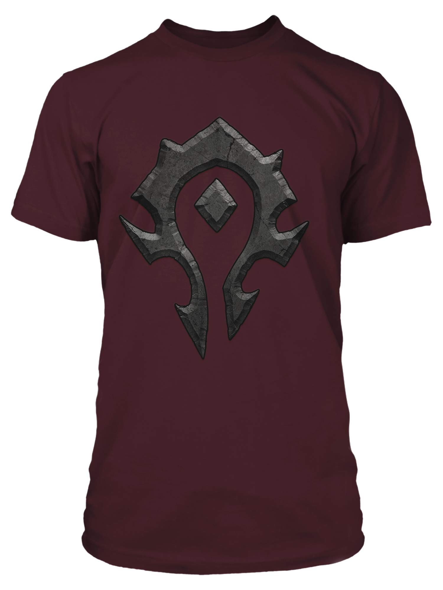 JINX World of Warcraft Horde Logo Men's Gamer Tee Shirt