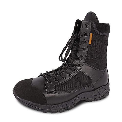 db6a90bd5997 PANY Men s Military Boots Tactical Boots Paratroop Cushioned Lightweight  Combat Work Boot 10 D(M
