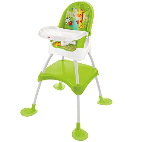 dd099874039e2 Fisher Price 4-in-1 Baby Booster Seat Table Feeding High Chair   Amazon.co.uk  Kitchen   Home