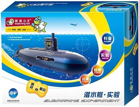 AIOJYA Sous-marin /électrique rechargeable for les enfants adultes Jouets de passe-temps Presents-Funny RC Mini sous-marin 6 canaux T/él/écommande sous leau bateau RC mod/èle de bateau Enfants jouet cade