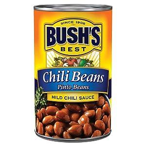 Bush's Best Mild Pinto Chili Beans, 16 oz