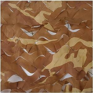 Huoo Camo Netting for Garden,Camouflage Sunshade Net Army Reinforcement Net for Garden Decoration (Size : 6X8M)