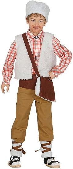 Guirca- Disfraz infantil de pastor, Color beige, 3-4 años (42752.0 ...