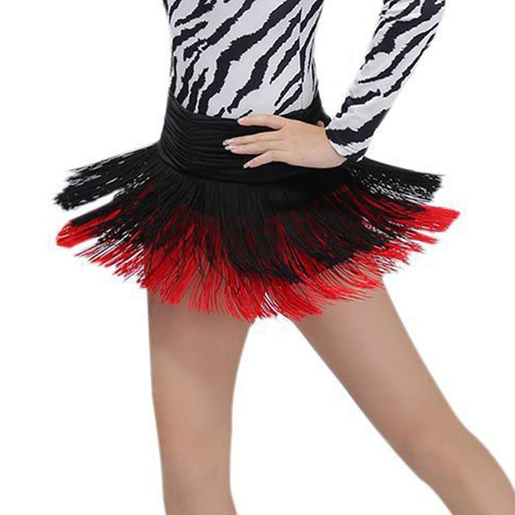 427bd4fb5d99 Hongyuangl Jupe à Franges Ceinture Foulard Belly Danse de Ventre Orientale  Hanche Costume Professionnel  Amazon.fr  Vêtements et accessoires