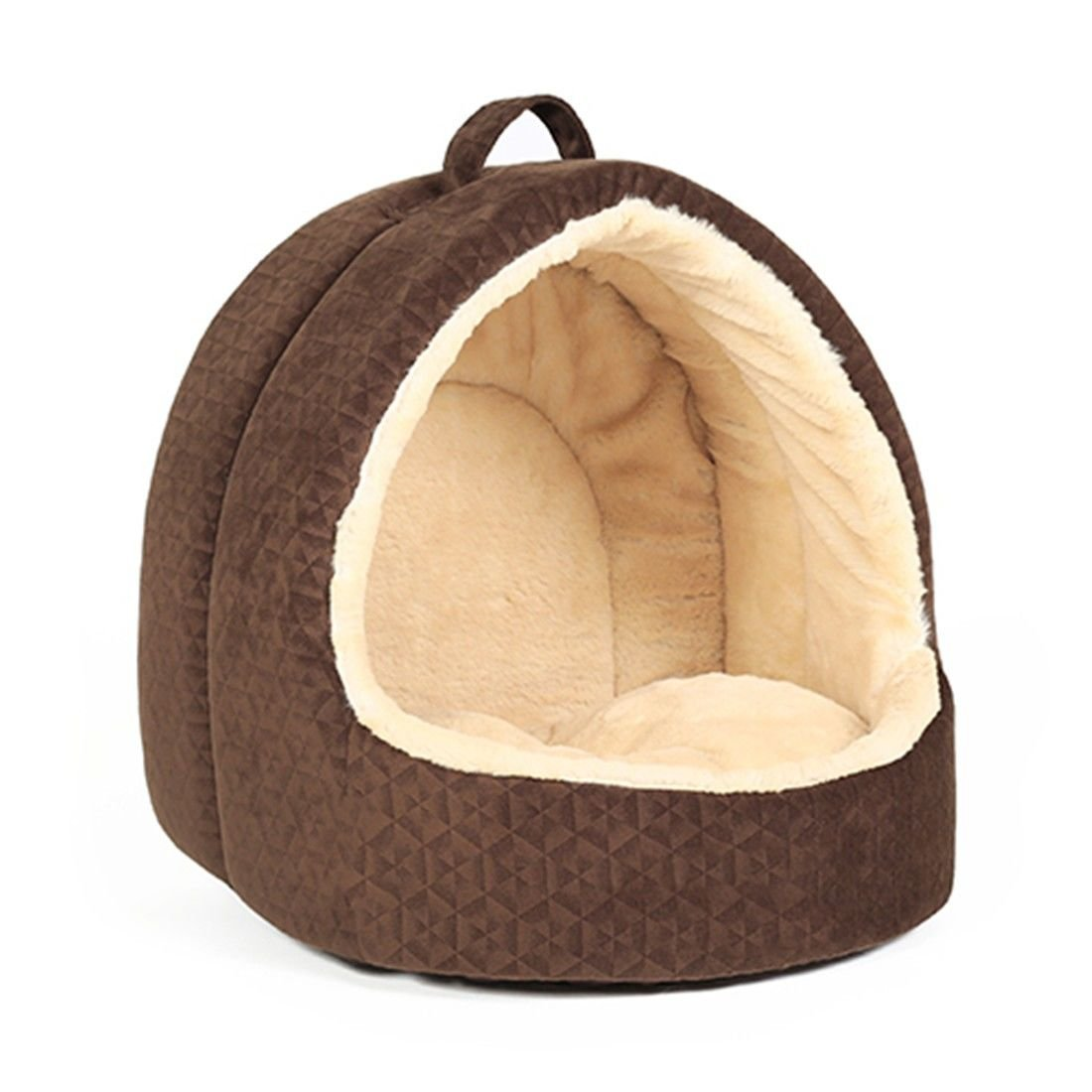 M 38X33X38CM STAZSX Kennel Teddy Bomei Small Dogs Dogs Yurt Dog Dogs Cat Supplies Maternity Cat Litter Four Seasons General, M 38X33X38CM