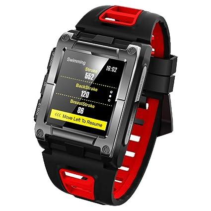 ZZJSL Reloj Inteligente Relojes Bluetooth, Relojes Inteligentes, Deportivos, De Ritmo Cardíaco, para