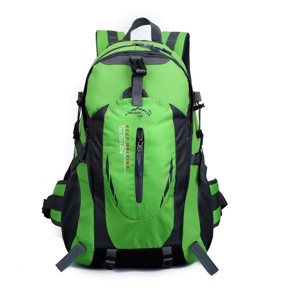 Bolso de montar a caballo de múltiples funciones montar colgante bolsa de viaje de deportes al aire libre doble hombro mochila bolsa impermeable , green: ...