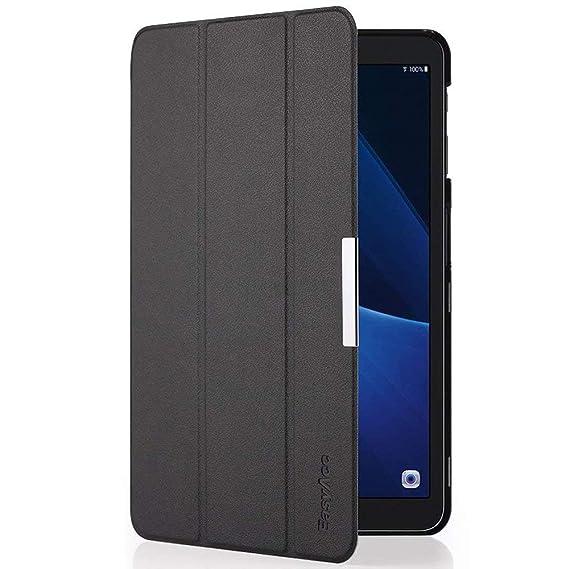 EasyAcc Hülle kompatibel für Samsung Galaxy Tab A 10.1 T580/ T585, Hochwertiges PU Leder Case Schutzhülle - mit Automatischem