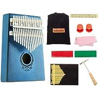 KOBWA Kalimba 17 Clés Pouce Piano Professionnel De Haute Qualité Doigt Pouce Piano Instrument ,Parfait Festival Cadeau pour Enfants Adultes