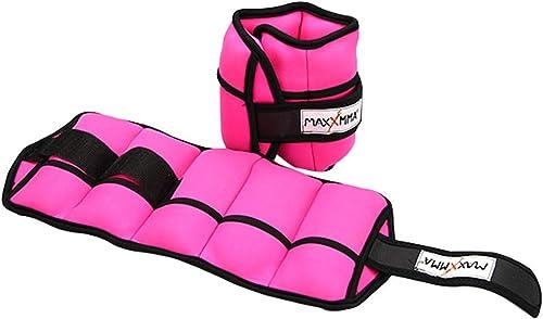 MaxxMMA Adjustable Neoprene Ankle Weights