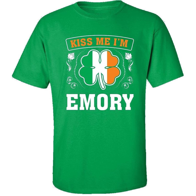 Kiss Me Im Emory And Irish St Patricks Day Gift - Adult Shirt