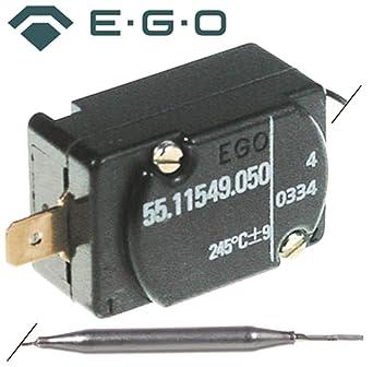 Ego Seguridad Termostato 55.11549.050 apto para FAGOR, amatis, Roller Grill Max.
