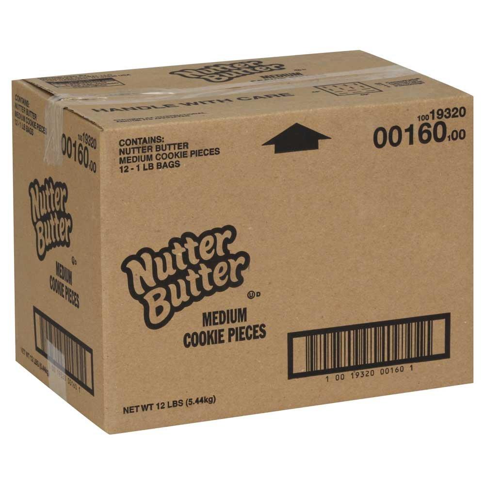 Nabisco Nutter Butter Medium Cookie Crumbs, 1 Pound - 12 per case.