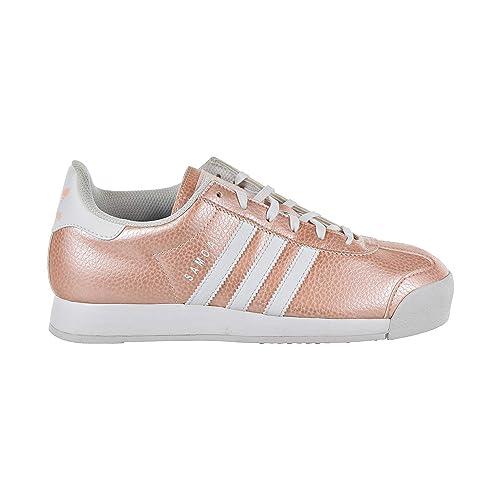 buy online 6a1c4 210ca adidas Originals Samoa J Big Kids  Shoes Cloud White Ice Pink Cloud White