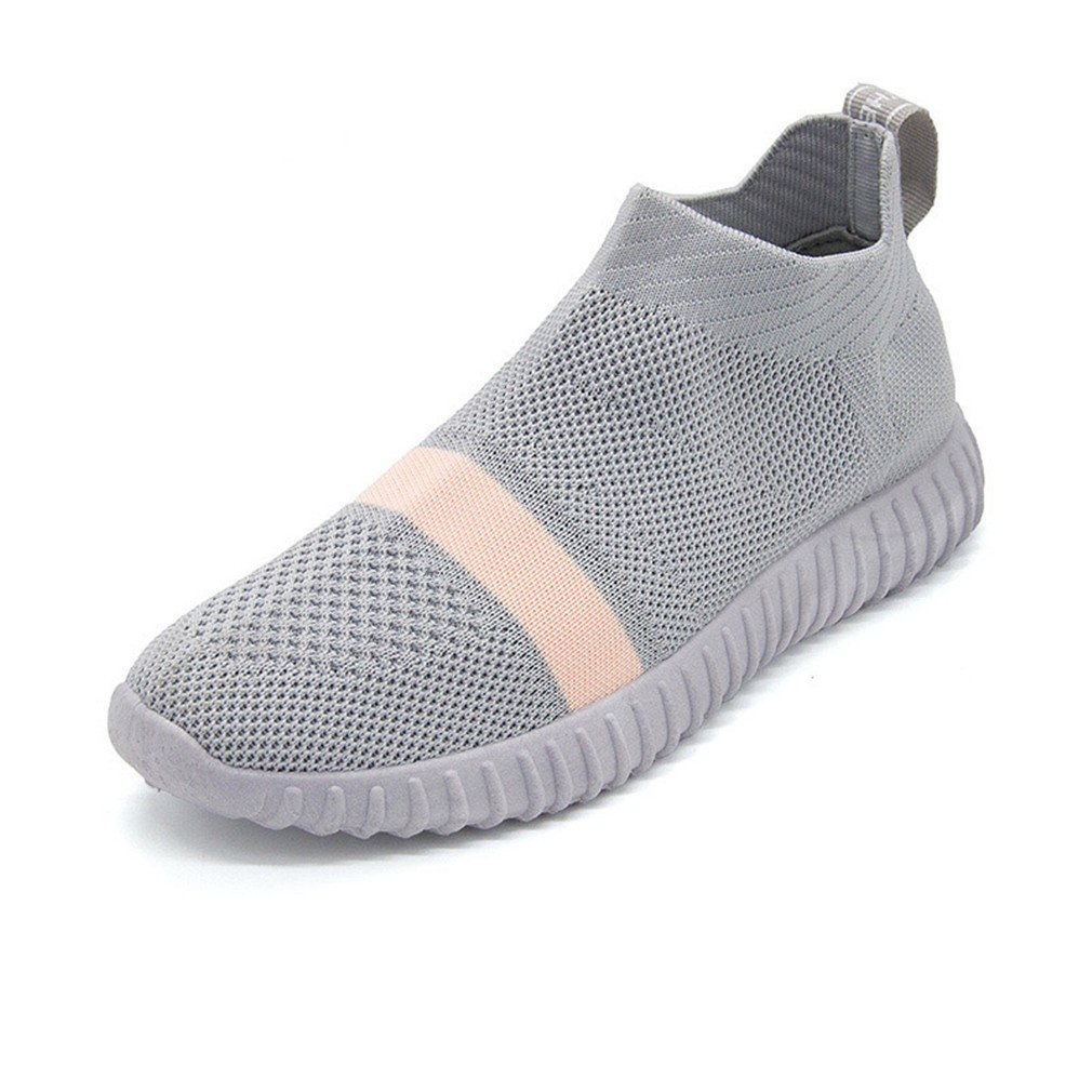 Amazon.com: Sport Shoes Woman Slip On Socks Running Shoes Comfortable Breathable Sock Sneakers: Clothing