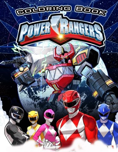 Power Rangers coloring book: This amazing coloring book will make your kids happier and give them joy(ages 4-9)