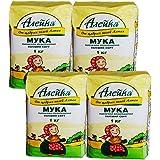 Aieuka艾利客 小麦粉 俄罗斯原装进口 (1kg*4袋)